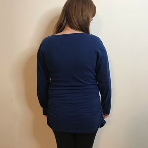 Cafe Press Maternity Tops - Cute Baby 👶Maternity Long Sleeve T-Shirt